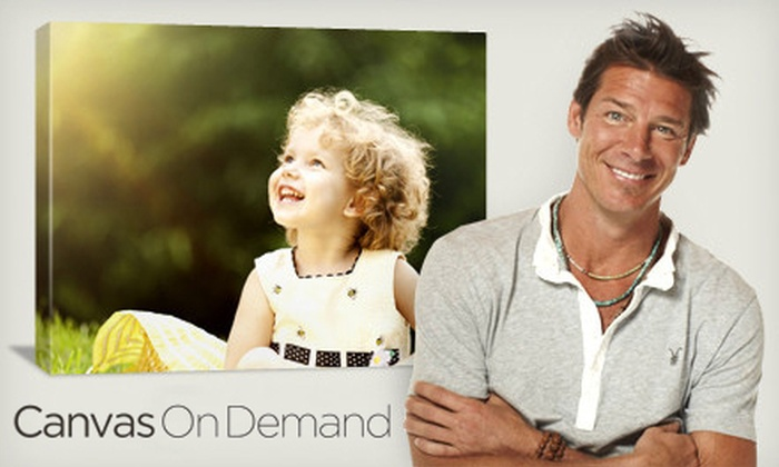 Canvas On Demand: Gallery-Wrapped Canvas with Shipping and Handling from Canvas on Demand (Up to 65% Off). Three Sizes Available