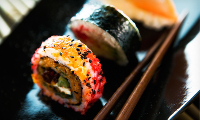 Sushi Gin Japanese Cuisine & Sushi Bar - Overland Park: $15 for $30 Worth of Japanese Food and Drinks on Monday–Thursday or Friday–Saturday