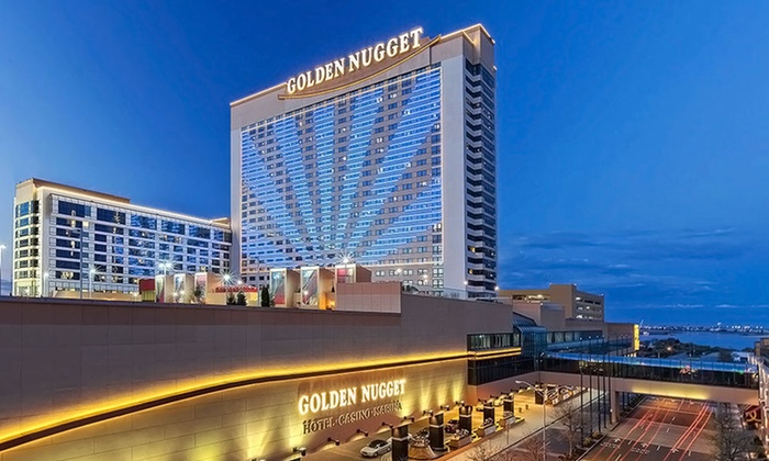 Golden Nugget Hotel - Atlantic City, NJ: Stay with Spa Passes and Parking at Golden Nugget Hotel in Atlantic City