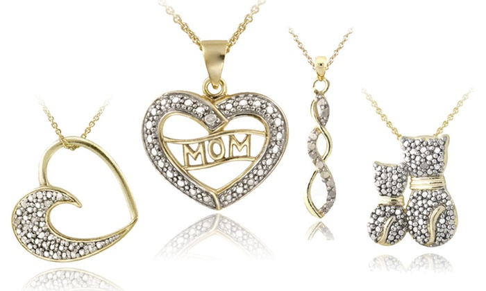 18-Karat Gold-Plated Sterling Silver Necklaces: 18-Karat Gold-Plated Sterling Silver Necklaces (Up to 71% Off). 12 Styles Available. Free Shipping and Returns.