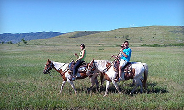 Chatfield Stables - Littleton: One- or Two-Hour Trail Ride for Two or Four at Chatfield Stables in Littleton (Up to 54% Off)