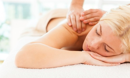 Massages with Optional Body Scrubs at Top Nails West Des Moines (Up to 55% Off). Three Options Available.