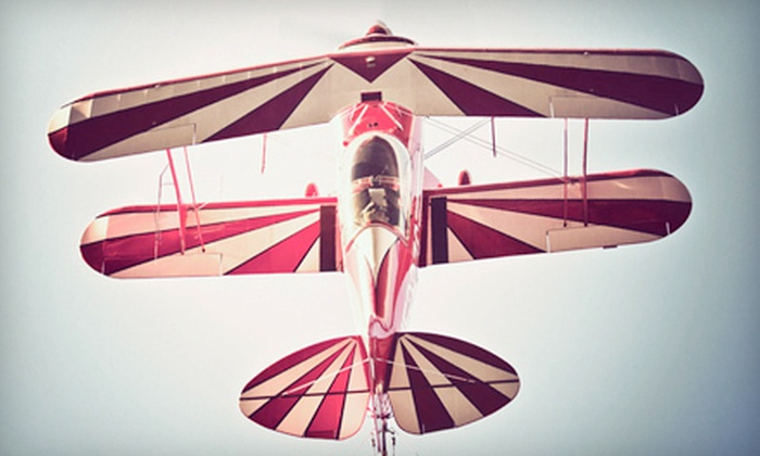 USA Aerobatics - Boerne: $159 for a 30-Minute Thrill Ride on a Stunt Plane from USA Aerobatics ($399 Value)