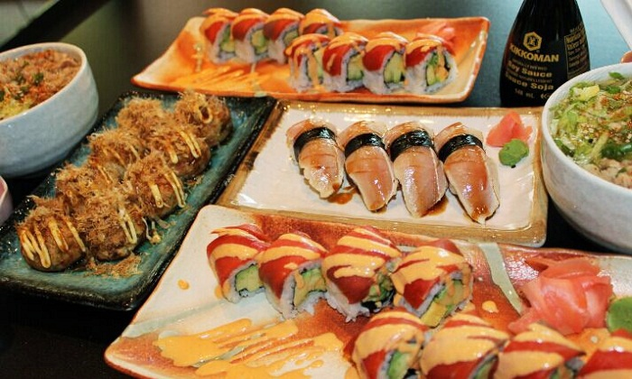 Hanafubuki Sushi - West End, Downtown Vancouver: C$23 for a Prix Fixe Japanese Dinner for Two at Hanafubuki Sushi (C$46 Value)
