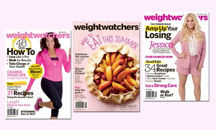 One-Year, Six-Issue Subscription to Weight Watchers Magazine