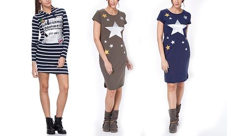 Vestidos estampados estrellas y rayas primavera Tantra desde 19,99 €
