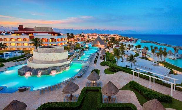TripAlertz wants you to check out ✈ 3-Night All-Inclusive Hard Rock Hotel Riviera Maya Stay with Airfare. Price per Person Based on Double Occupancy.  ✈ All-Inclusive Riviera Maya Vacation with Airfare from Travel by Jen - All-Inclusive Riviera Maya Trip