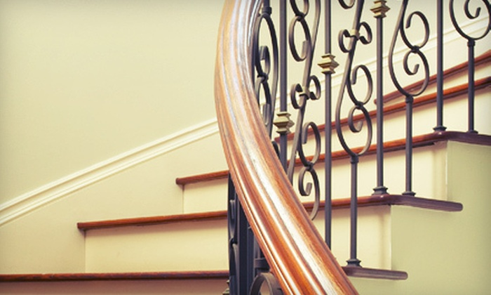 Stair Corner - Mooresville: $249 for 20 Wrought-Iron Balusters with Installation in Orleans Pattern from Stair Corner ($500 Value)
