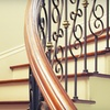 Half Off Wrought-Iron Stair-Baluster Installation