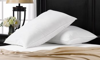 Exquisite Hotel Signature Pillows, All Three Sizes Same Price (2-Pack)