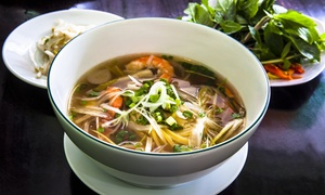 Jade Bistro: $17 for $30 Worth of Pan-Asian Dinner Cuisine for at Jade Bistro