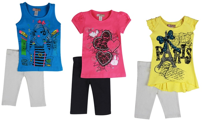 Baby Ziggles Two-Piece Clothing Set: Baby Ziggles Two-Piece Clothing Set. Multiple Styles Available. Free Returns.