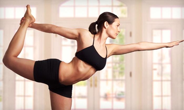 Atlanta Hot Yoga - Multiple Locations: 10 or 20 Yoga and Pilates Classes at Atlanta Hot Yoga (69% Off)