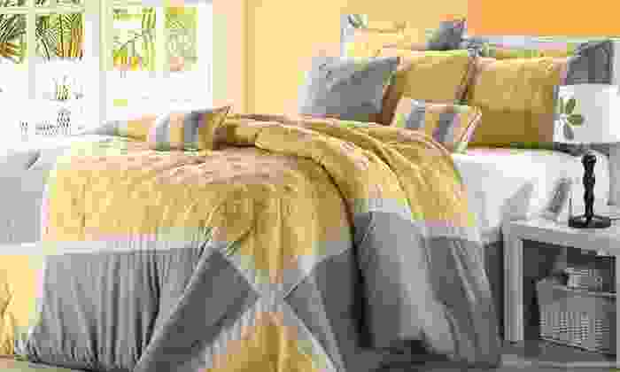 Chic Home 8-Piece Comforter Sets: $74.99 for a Chic Home 8-Piece Comforter Set (Up to $160 List Price). Multiple Styles. Free Shipping and Returns.