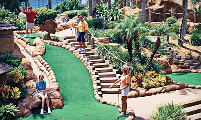 Congo River Golf - Congo River Golf East Orlando: $16 for a Mini-Golf Round and Bag of Gator Food for Two at Congo River Golf ($31.96 Value)