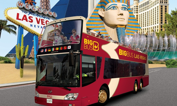 Big Bus Tours - Multiple Locations: Hop-On, Hop-Off Day Tour for 1 or 2 with Optional Rodizio Lunch or CSI Experience from Big Bus Tours (Up to 48% Off)