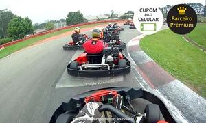 Kartódromo Internacional Granja Viana: Kartódromo Internacional Granja Viana: bateria de kart de 20 minutos para 1 pessoa