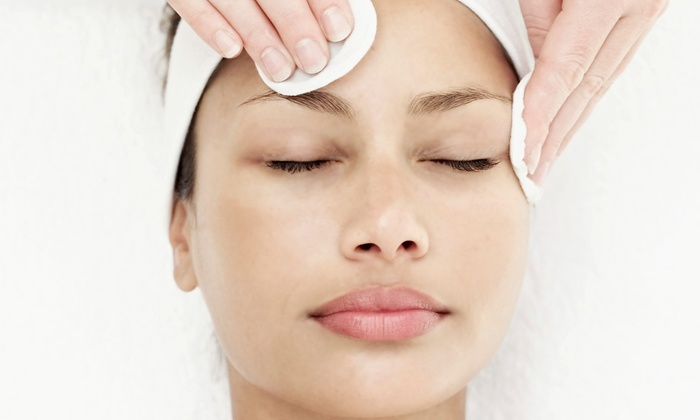 OM Day Spa - Garden Grove: $42 for an Deep Pore Cleansing Facial and a Brow or Lip Waxing at OM Day Spa ($105 Value)