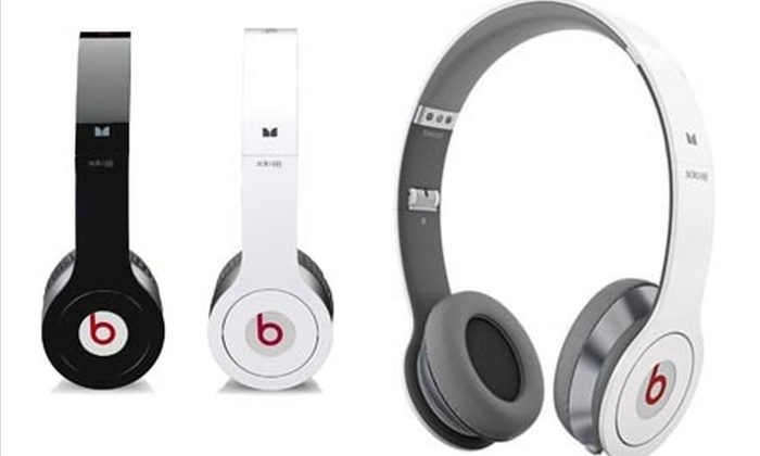 casque beats by dr dre groupon shopping. Black Bedroom Furniture Sets. Home Design Ideas