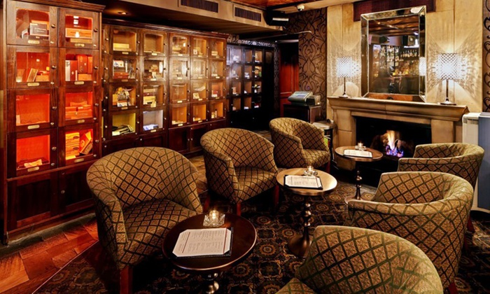 Merchants NY Cigar Bar - Upper East Side: 25% Off Your Entire Bill at Merchants NY Cigar Bar. Must Reserve Table on Groupon.