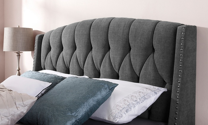 upholstered wingback headboard  clandestin, Headboard designs