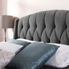 Dorel Signature Upholstered Wingback Headboards
