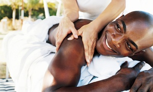 Marquis Spa: Deep-Tissue or Swedish Massage Package at Marquis Spa (Up to 65% Off). Three Options Available.