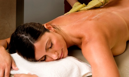 Korean Body Scrub with Cucumber Mask & Optional 30-Minute Massage at TriBeca Spa of Tranquility (Up to 50% Off)