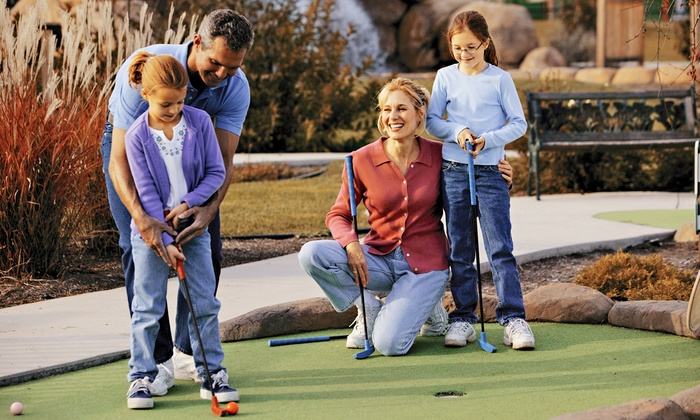Leatherman Golf Learning Center - Charlotte: Round of Mini Golf for Two or Four at Leatherman Golf Learning Center (Up to 50% Off)