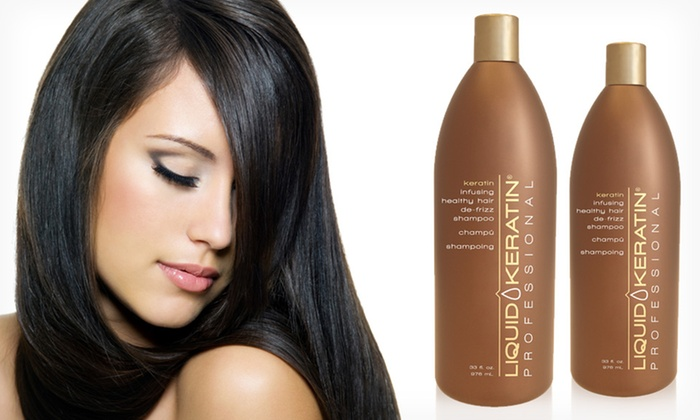 Liquid Keratin Shampoo and Conditioner Liter Duo: $39.99 for a Liquid Keratin Shampoo and Conditioner Liter Duo ($118 List Price). Free Shipping.