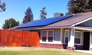 Solar Care Bakersfield: Solar Panel Cleaning for 15 or 25 on a Residential Home from Solar Care Bakersfield (Up to 54% Off)