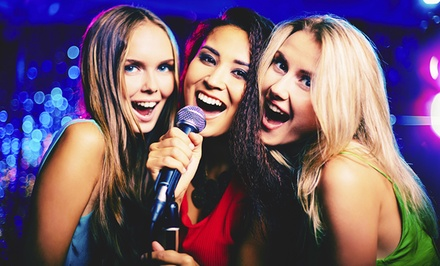 Food, Drink, or Karaoke Rental, Two-Hour Karaoke-Room Rental, or Two-Hour VIP Room Rental at SKY KTV (Up to 52% Off)