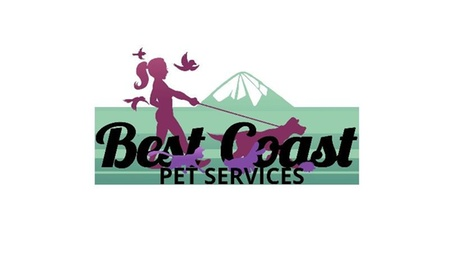 Five Dog Walks from Best Coast Pet Services (38% Off)