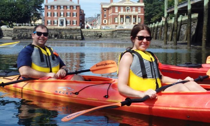 Salem Kayak - Salem Neck: Two-Hour Intro to Sea Kayaking Lesson for Two or Four at Salem Kayak (55% Off)