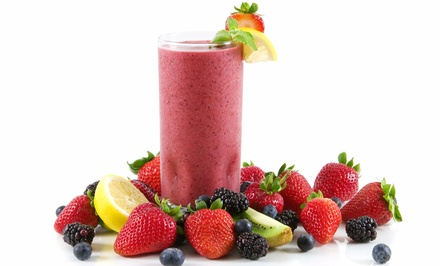 $15 for Three Groupons, Each Good for $10 Worth of Soup and Smoothies at re Juice a Nation ($30 Total Value)