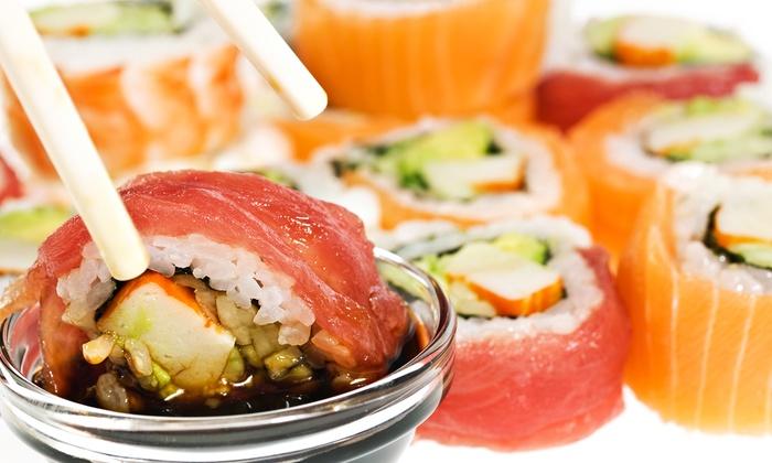 Murasaki Steakhouse and Sushi Bar - Stillwater: $25 for $50 Worth of Steak, Sushi, Korean, and Japanese Food at Murasaki Steakhouse and Sushi Bar in Stillwater