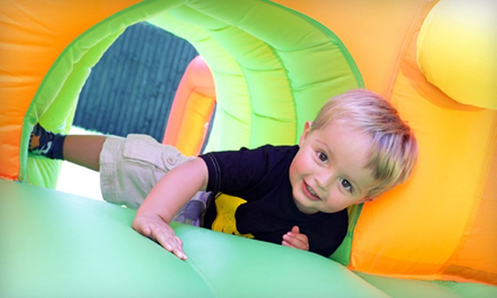 Monkey Joe's - Logger's Run: 5 or 10 Walk-In Bounce Playtimes or $49 for $100 Toward a Party Package at Monkey Joe's