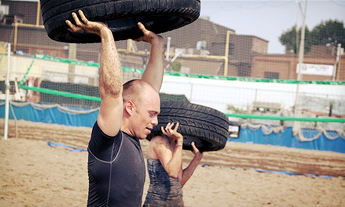 """The O Course Crucible - Toronto: Entry to """"The O Course Crucible"""" Military-Style Obstacle Course Race for One, Two, or Four (54% Off)"""