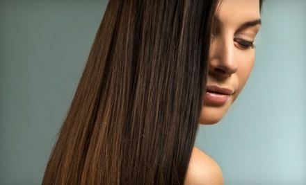 One or Two La-Brasiliana Keratin Hair-Smoothing Treatments at Mavida Salon (Up to 74% Off)