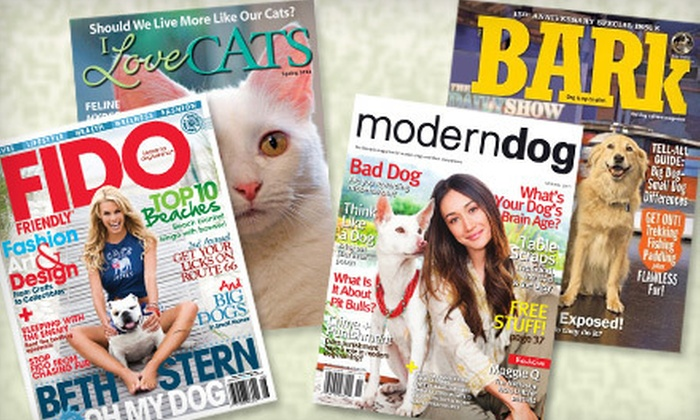 Blue Dolphin Magazines: Subscription to Choice of Four Pet Magazines (Up to 53% Off)