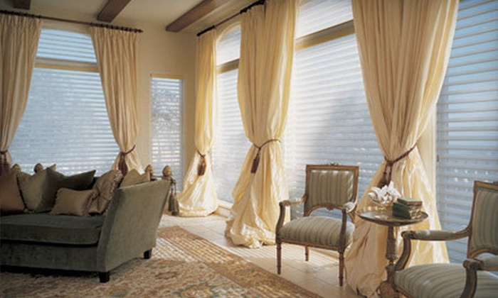 Omaha Drapery&Blind - Keystone: Blinds or Draperies at Omaha Drapery&Blind (Up to 67% Off). Four Options Available.