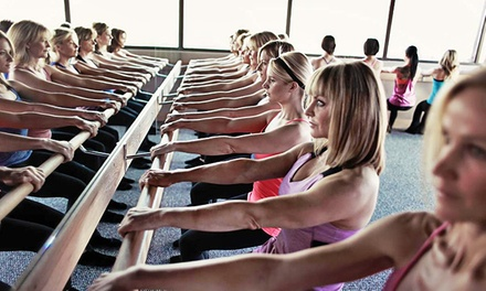 Two Weeks of Unlimited Classes or 5 Drop-In Classes at Pure Barre (Up to 63% Off)