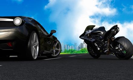 Curso para obtener el carné de moto con 4 prácticas por 29,90€ o de coche con 6 u 8 prácticas desde 49,90€ en 3 centros