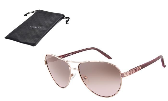830d2bdc32e3 Prescription Aviator Sunglasses Guess