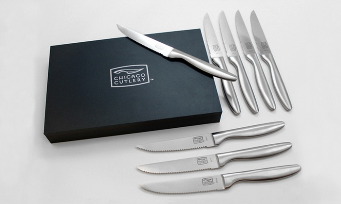 Chicago Cutlery Steak Knives: $15.99 for a Set of Chicago Cutlery Steak Knives ($39.99 List Price). Free Shipping.