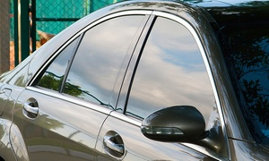 Black Optix Tint: Window Tinting for a Two- or Four-Door Car (Up to 57% Off)