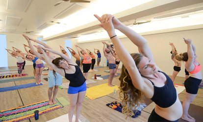 image for $29 for One Month of Unlimited Yoga Classes at Yoga Sunné ($150 Value)