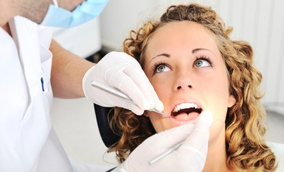 Initial Examination with X-Ray, Scale and Polish at The Silver Pepper Clinic (82% Off)