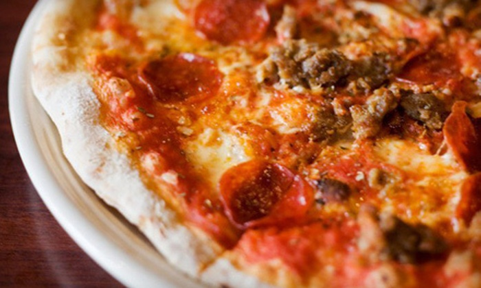 900 Degrees - Downtown Manchester: Neapolitan Pizza Dinner for Two or Four at 900 Degrees (Up to 56% Off)