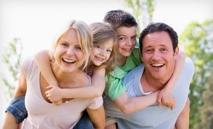Adult Dental Checkup with Whitening or Children's Checkup with Fluoride Treatment at OC Dental Group (Up to 88% Off)